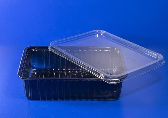 Контейнер с прозрачной крышкой 0,75л 180х130 H-50mm 483 cум (1)