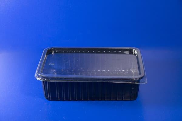 Контейнер с прозрачной крышкой 0,75л 180х130 H-50mm 483 cум